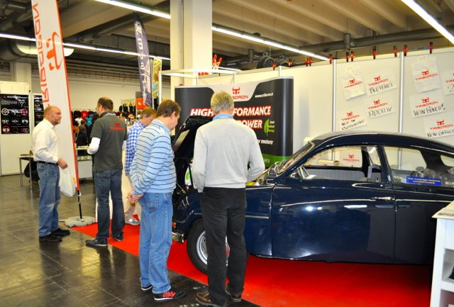 Swedish story: Triboron booth at the Techno Classica