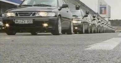 Saab 900 R Turbo 1996 en Nürburgring