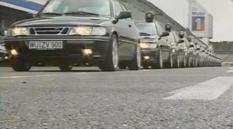 Saab 900 R Turbo 1996 auf dem Nürburgring