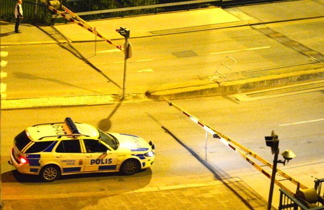 SAAB 9-5 Polis. Nightlife in Trollhattan. Aber...in Zukunft fahren wir BMW!