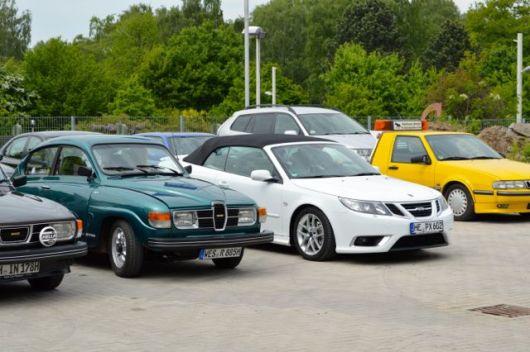 Saab Cabriolet por SU Blogger RedJ