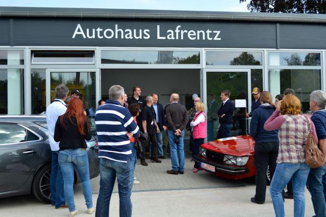 Autohaus Lafrentz in Kiel.