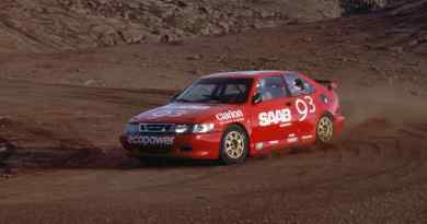 Per Eklund sobre Pikes Peak 2001