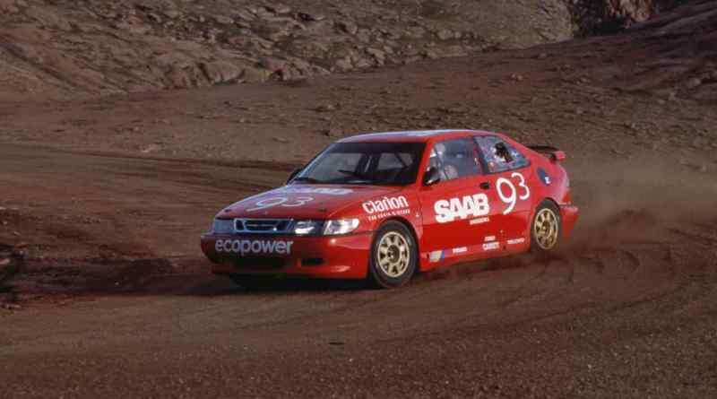 Per Eklund på Pikes Peak 2001
