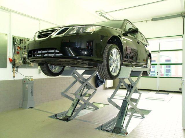 Saab serviço no centro de Saab Bamberg