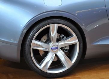 Detail: Felgen am Concept Coupe