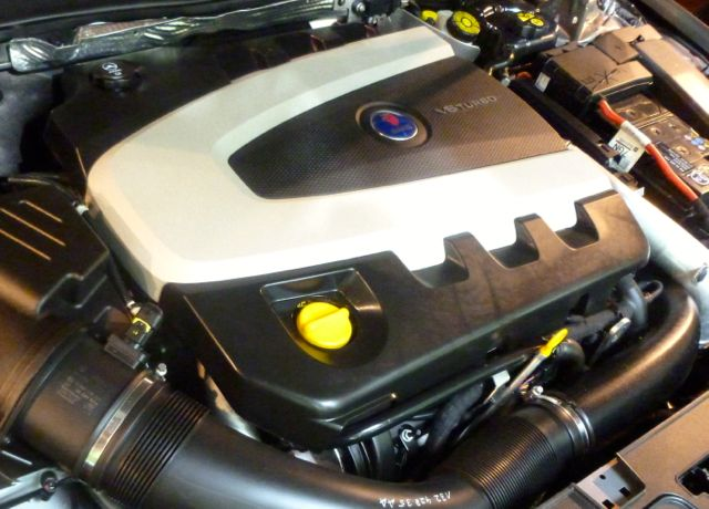 A Saab engine. Only in which car and which engine.