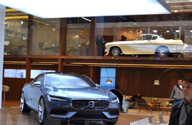 Volvo no IAA: original e estudo