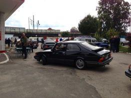 Saab 900 Turbo 16S Última corrida (?)