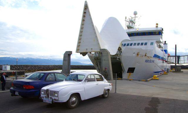 Saab 96 Zweitakt auf Island