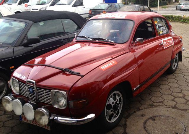 Saab 96 Rally