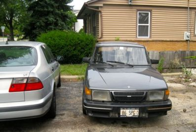 Saab 900 SPG in Chicago