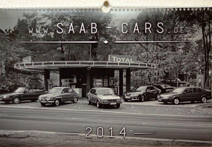 Saab Bilar Kalender b / w