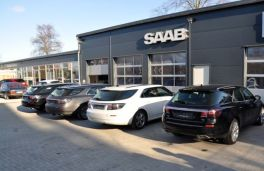Saab 9-5 II Sportkombi Impressionen, bei Saab Service Kiel