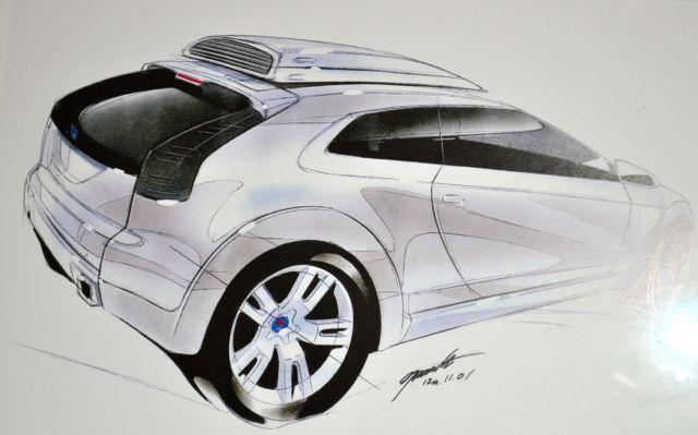Saab Entwurf von .....