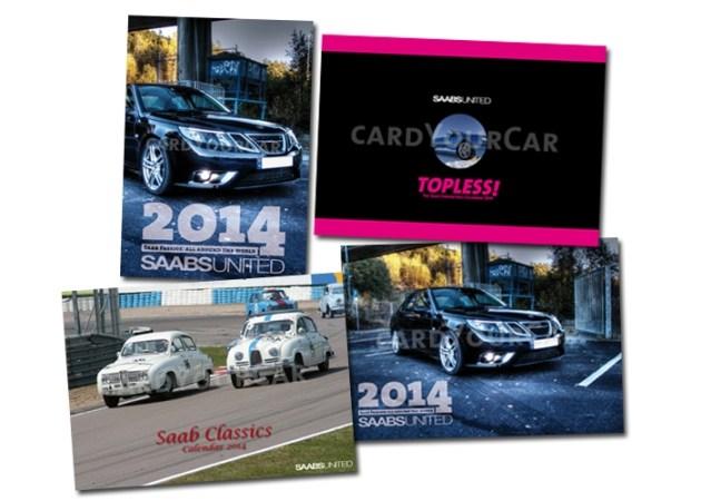 Saab Kalender im CardyourCar Shop.
