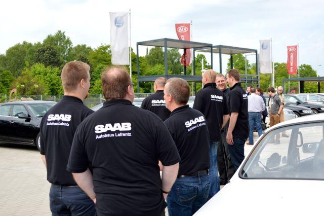 Equipe de Concessão Saab Service Lafrentz