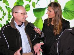 Blogger in un'intervista con la radio svedese