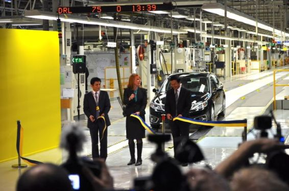 Saab Produktionsstart