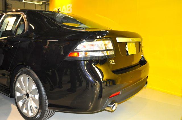 Saab No. 1 - vista traseira