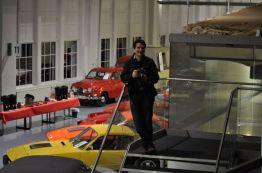 Mark ... solo e solo nel Museo Saab