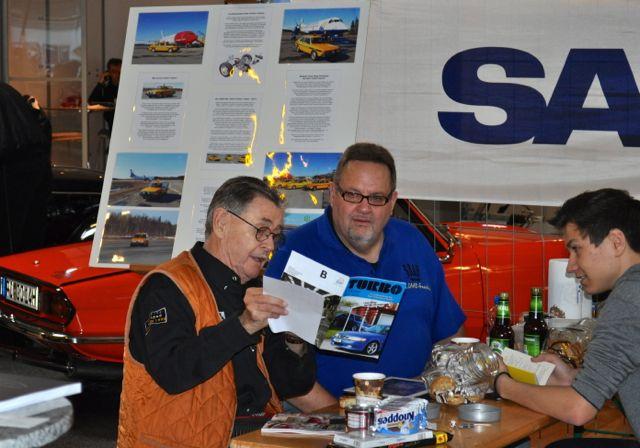Simo Lampinen e Josef Zabel al Nordicar Elmshorn