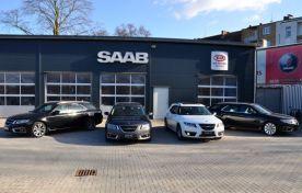 Saab 9-5 sport i Kiel