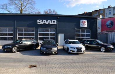 Saab 9-5 esportes em Kiel