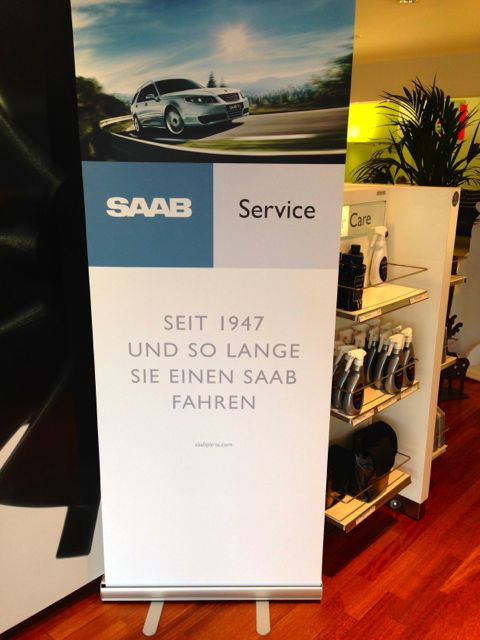 Serviço Saab na Suíça