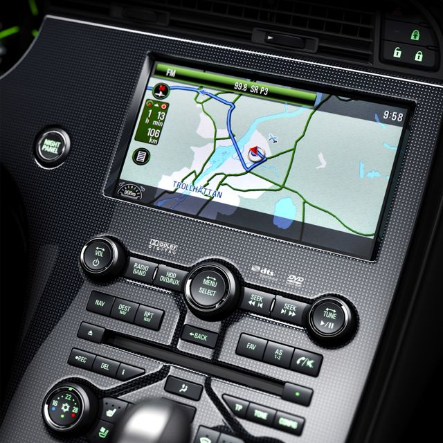 Center console in 2012er design