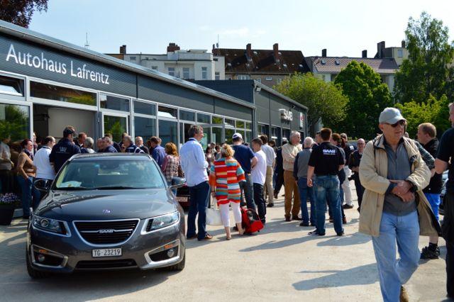 Saab Event 2013 in Kiel