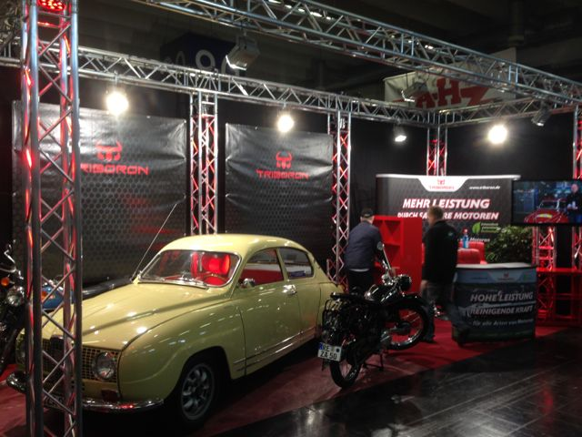 Saab 96 Monte Carlo at Triboron booth in Essen