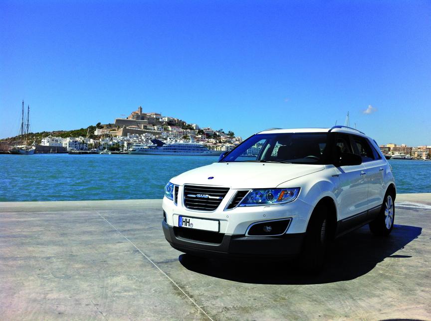 Saab 9-4x © 2014 Ibiza idag