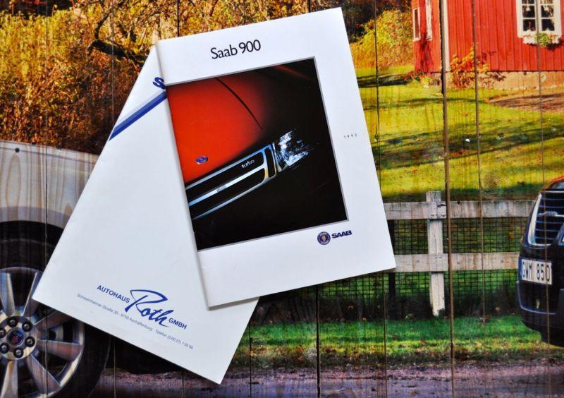 Lansering av Saab Passion: prospekt och inköpsavtal 1992 © 2014 saabblog.net