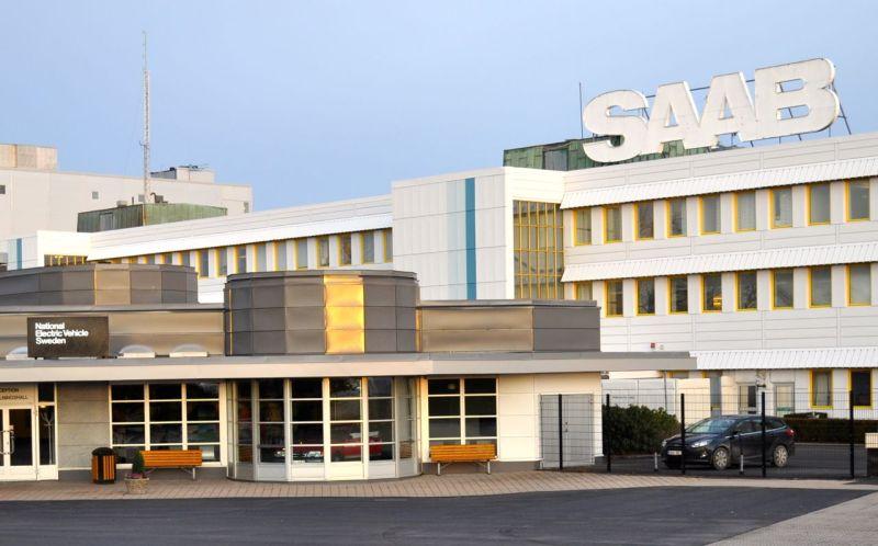 Saab Hauptportal © 2014 saabblog.net