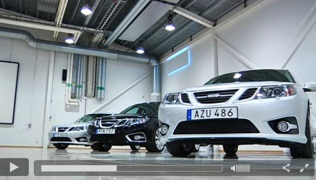 Saab TV - Neuwagen Auslieferung in Trollhattan