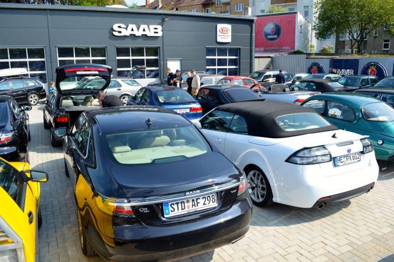 Saab träffar 2013 i Kiel © 2014 saabblog.net
