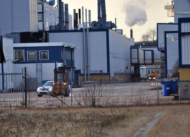 Actividades en la fábrica de Saab © 2014 saabblog.net