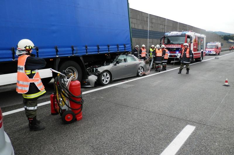 Saab 9-5 NG Unfall, Bild: salzi.at