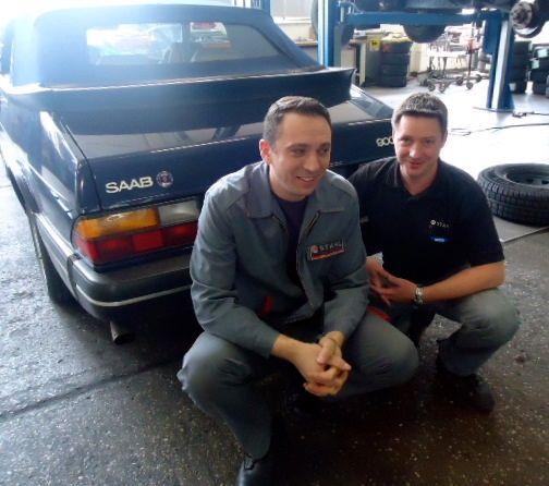 Os clássicos Saab são bem-vindos no Auto Stahl!