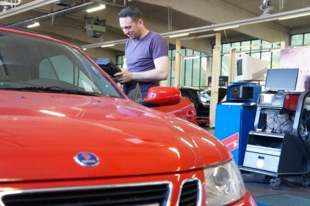 Serviço Saab em Auto Stahl