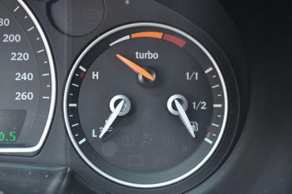 Recurso Turbo X, indicador de aumento © 2014 saabblog.net