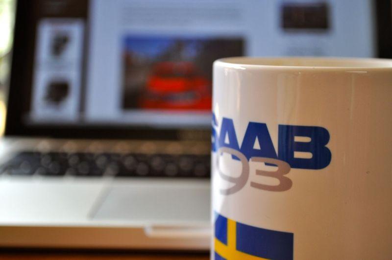 Kaffee und Saab-Blog. Noch gesichert?