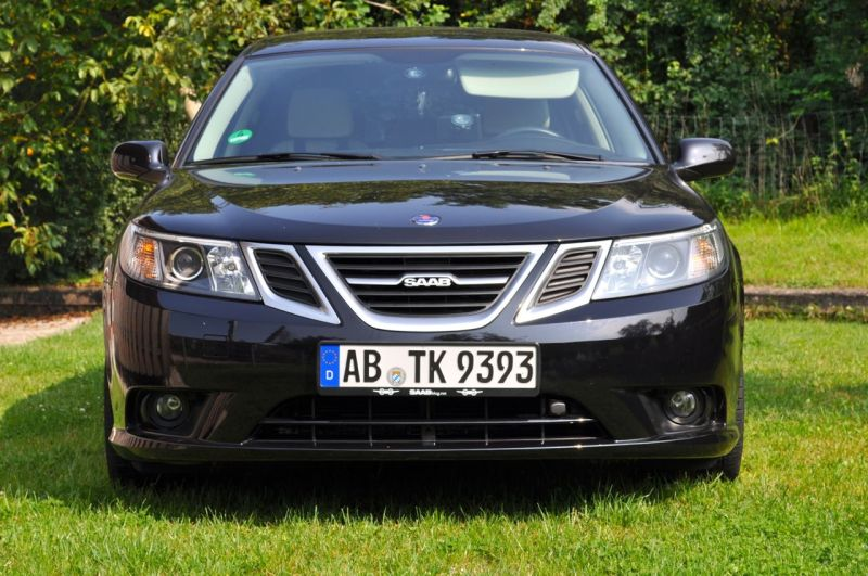 Saab 9-3 1.8t, MY 2011, Griffin Grill. ©2014 saabblog.net