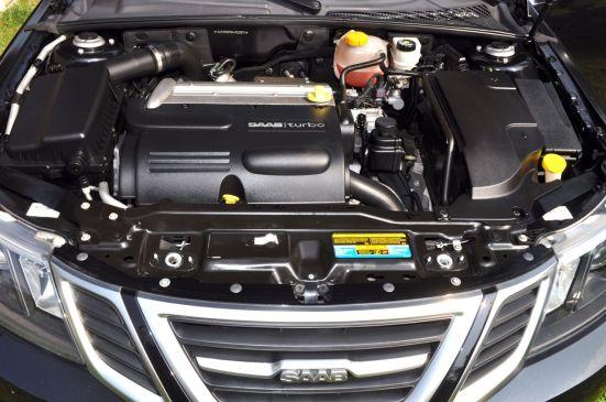 1.8t - in Wrklichkeit 2.0 Liter Turbo. ©2014 saabblog.net