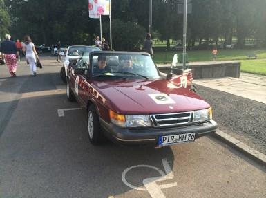 ... i Saab i början.