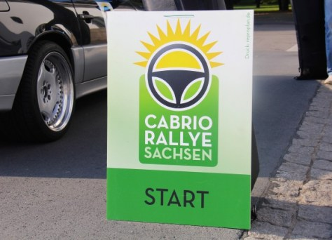 Convertible Rally Saxony 2014 ... just before the start