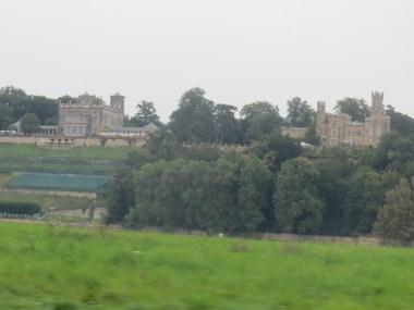 ... langs de weg - Schloss Eckberg en Schloss Albrechtsberg