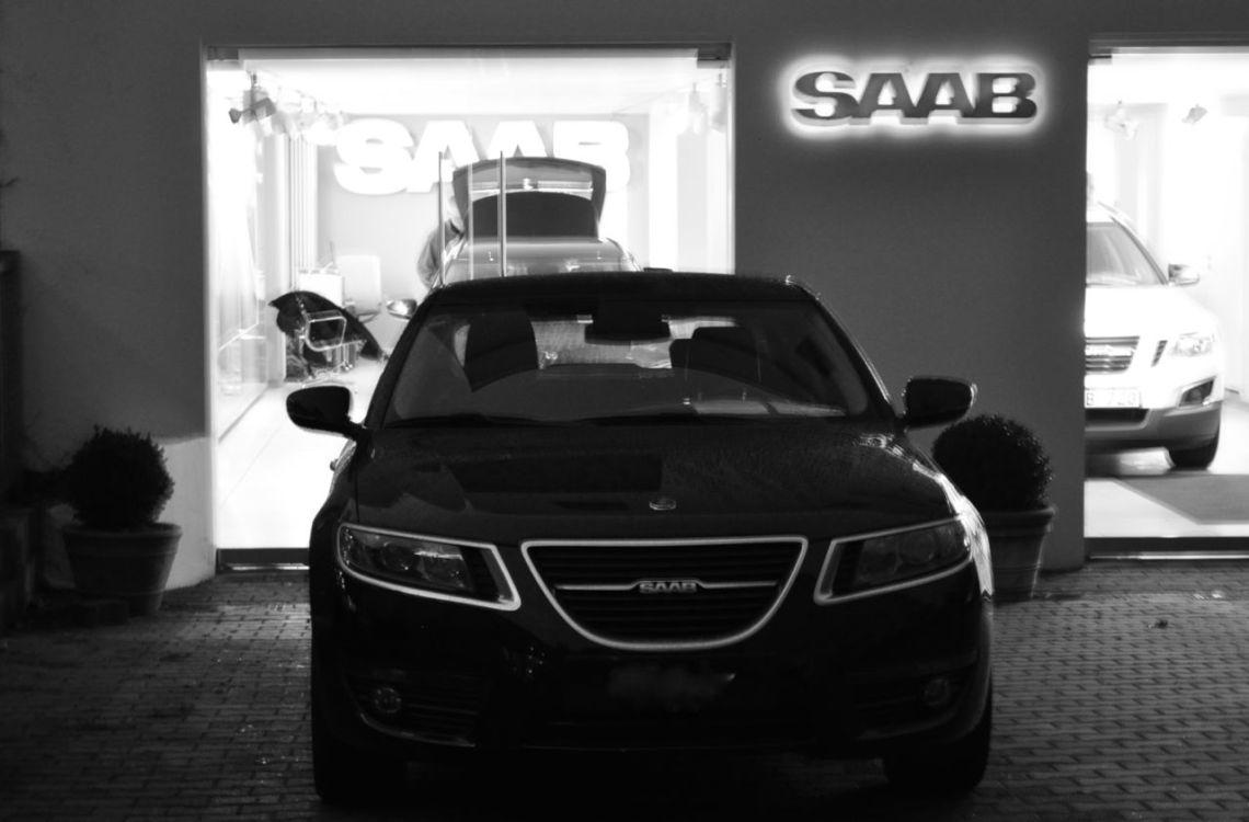 Saab Bluestime. Con Saab 9-5 NG. © 2014 saabblog.net