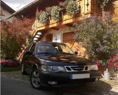 Saab 9-3 Coupe - o carro de casamento